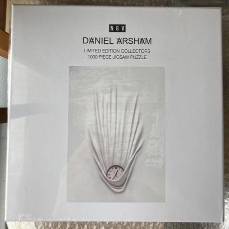 【新品未開封】ダニエル アーシャム ジグソーパズル 時計 フォーリンクロック DANIEL ARSHAM Falling Clock NGV公式 モダンアート
