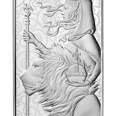 【100オンス・シルバーバー】2021 ロイヤルミント ウナとライオン 100oz 銀棒銀の延べ板  インゴット 英国 イギリス Royal Mint Una Lion