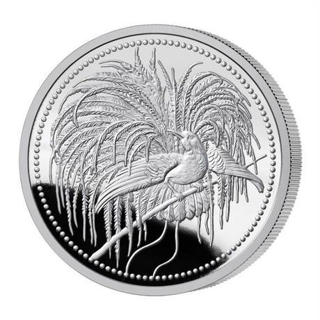 【PCGS PR70DCAM】2020 パプアニューギニア 極楽鳥 10キナ 1オンス 銀貨 プルーフコイン Papua New Guinea 10K Bird of Paradise