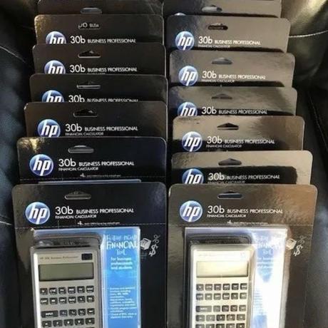 【新品】HP 30b Business Professional Financial Calculator RPN ヒューレットパッカード 金融電卓 北米版