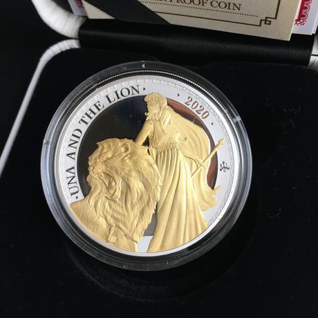 2020 ウナとライオン セントヘレナ 1オンス銀貨 プルーフコイン ヴィクトリア女王 アンティークコイン イギリス 英国 東インド会社 Una Lion