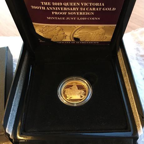 ウナとライオン 2019 オルダニー島 24k 1ソブリン金貨 ゴールドコイン Alderney Una Lion sovereign gold coin