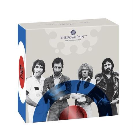 ミュージック レジェンド ザ・フー The Who 1オンス 100ポンド金貨 ゴールドプルーフコイン 2021 英国 イギリス ロイヤルミント Royal Mint