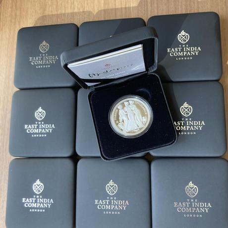 【10枚セット】セントヘレナ版 スリーグレイセス 2021年 1オンス銀貨 シルバー プルーフコイン Three Graces St.Helena Silver Proof Coin 1oz