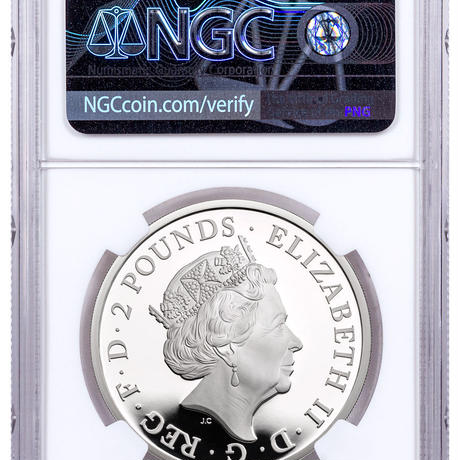 【NGC PF70UC】コンプリート版 2021 クイーンズビースト 1オンス 2ポンド銀貨 プルーフコイン シルバー QUEEN'S BEASTS COMPLETER 1oz Silver coin