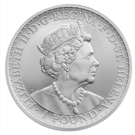 【18枚セット】ウナとライオン 2021年 セントヘレナ 1オンス銀貨 シルバー BU版コイン Una Lion silver coin