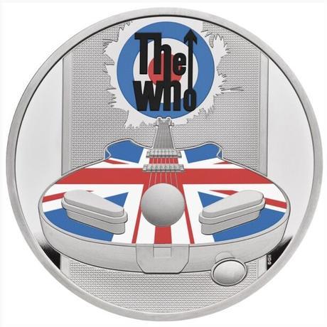 ミュージック レジェンド ザ・フー The Who 1オンス 2ポンド銀貨 シルバープルーフコイン 2021 英国 イギリス ロイヤルミント Royal Mint