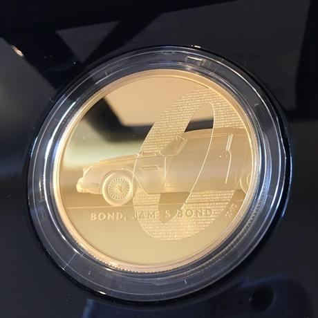 【第1貨】2オンス 007 ジェームズ・ボンド 200ポンド金貨 プルーフコイン ゴールド 2020年 英国 ロイヤルミント James Bond