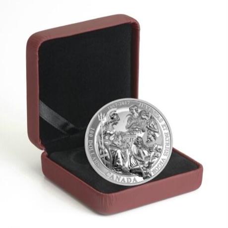 【100カナダドル版】カナダのウナとライオン 10オンス シルバーメダル 銀 2017 建国150周年記念 1867年コンフェデレーション CANADA Una Lion silver coin