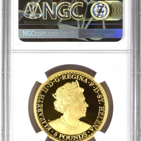 【PF70UC +FR】2021年 ウナとライオン セントヘレナ 1オンス金貨 ゴールド プルーフコイン 200枚 Una Lion St.Helena 1oz gold proof coin
