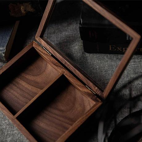 木製コレクションボックス(2デック)byTCC