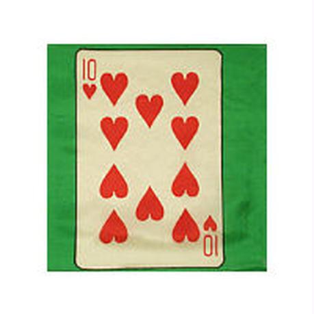 30cm角カードシルク(緑ベース)