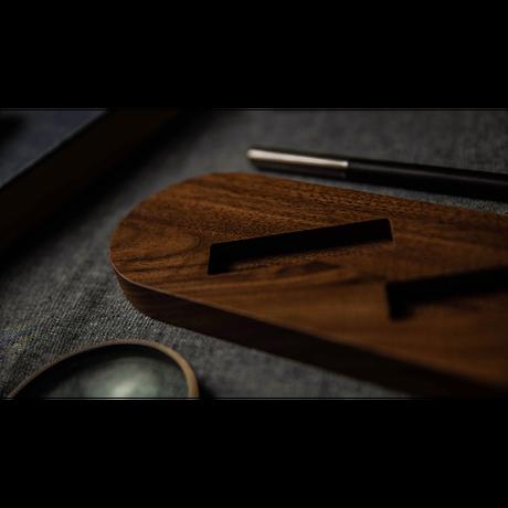 木製サイドウェイカードディスプレー(5デック)