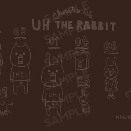 "[ud_003] DLデータ PC用壁紙 ""UH THE RABBIT"" 【brown】"