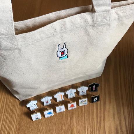 [u_013]ピンバッジ コンプリートパック【ウートート】