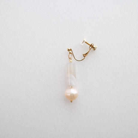 LUCIE EARRING PEARL