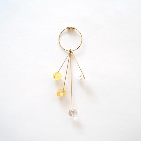 LISARCH meet with Ui. DROP THREE EARRING & Hair Sorbet02