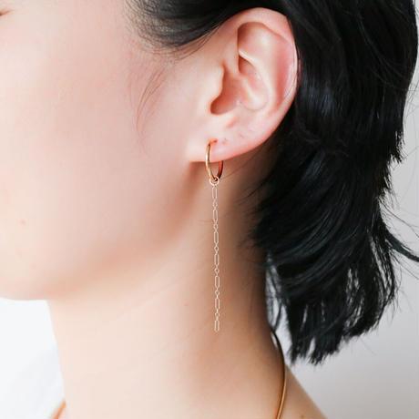 COM CHAIN SHORT EARRING PARTS