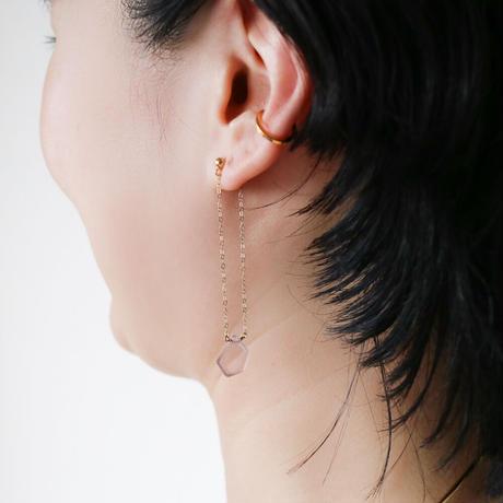 LIAN EARRING PURPLE