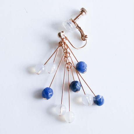 CIRCUS Earring BLUE