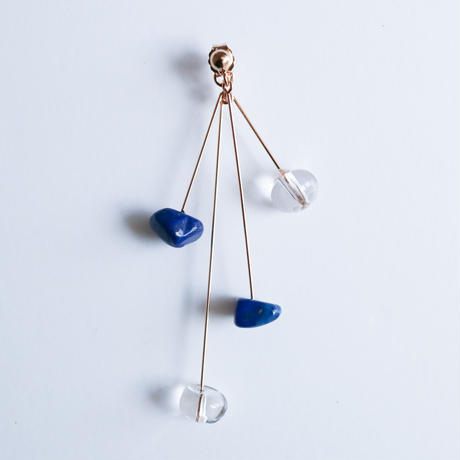 【夏限定カラー】DROP Pierce THREE LIMITED BLUE