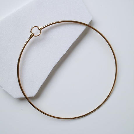DOUBLE CIRCLE GOLD CHORKER
