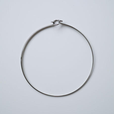 DOUBLE CIRCLE SILVER CHORKER