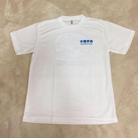 Tシャツ ラッコ柄後ろ 白(半袖)