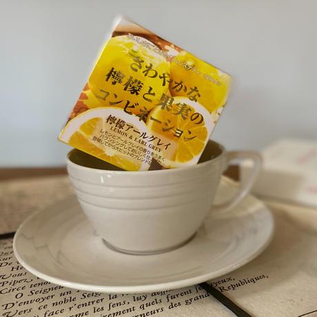 🌱 David tea collection【檸檬アールグレイ】宇治紅茶館セレクト