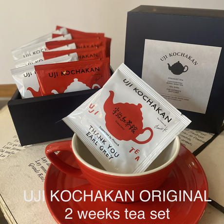 【NEW!】2 weeks tea set (14tea bags )