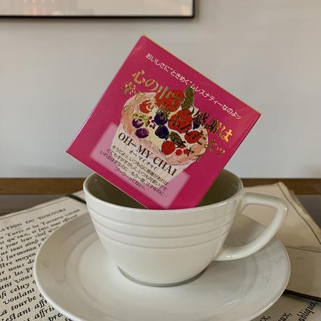 NEW【OH-MY CHAI オーマイチャイ】宇治紅茶館がセレクトした David tea collection