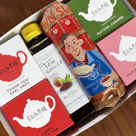 ②TS宇治紅茶館オリジナルパッケージ 紅茶セット