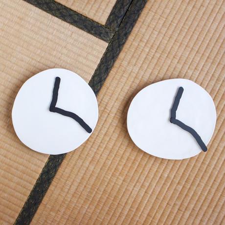 SHOKKI_Wall clock_white