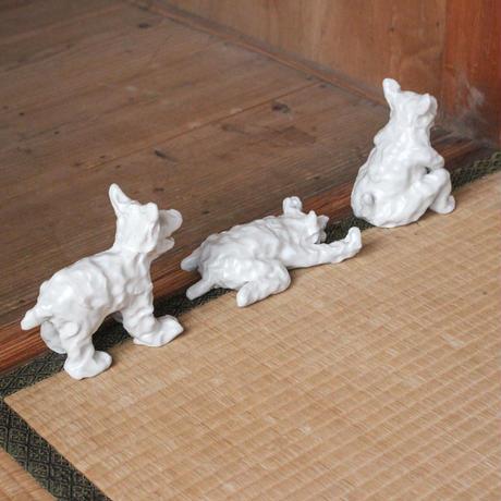 SHOKKI_White dog(standing dogのみ)