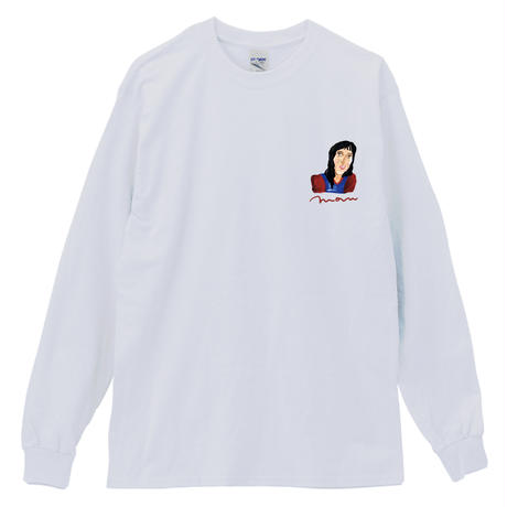 THE_SHINING_MOM&SPECIALDAY_Long Sleeve Tee / WHITE