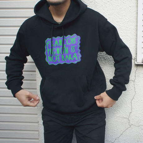 FRANÇOIS PIGNON IS NOT BAKA_hoodie_BLACK