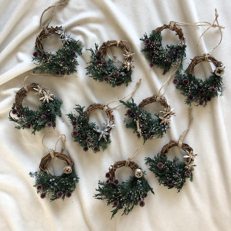 When you wish upon a star mini wreath