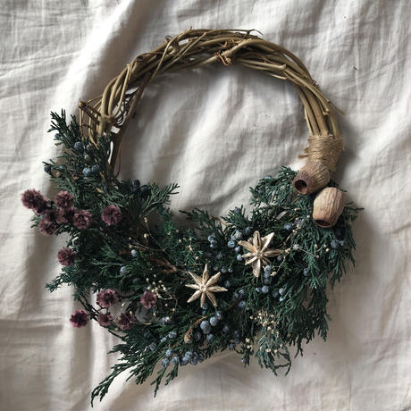 When you wish upon a star half wreath