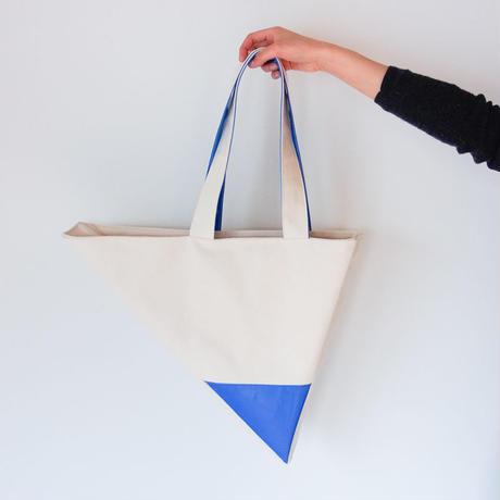 いびつトート type1 青 or 白
