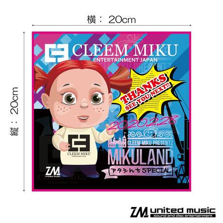 【GOODS】CLEEM MIKU 非売品ハンドタオル