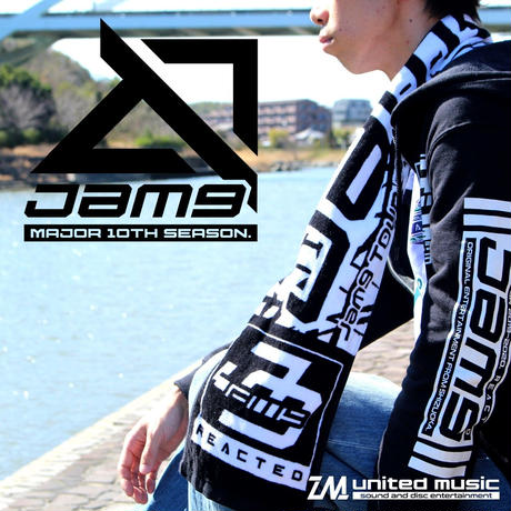【GOODS】Jam9 TOUR2019-2020「REACTED -THE FINAL-」マフラータオル