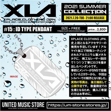【XLA】 ID TYPE PENDANT
