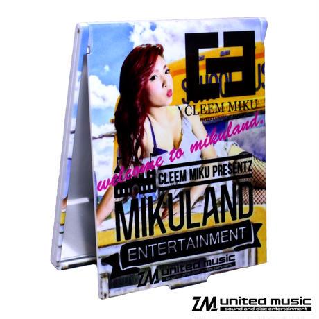 【GOODS】CLEEM MIKU × MIKULAND ミラー
