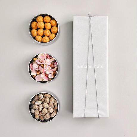 【期間限定】3缶セット(エディブルフラワーローズ、ポルチーニ、レモン)