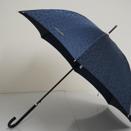 mila schon ミラショーン 耐風傘 USED超美品 ロゴジャガード ジオメトリック 60cm 中古 A3749