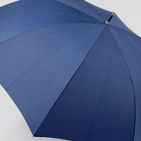 A0661 BUSINESS EXPERT ビジネス エキスパート 紳士傘 USED美品 シンプル無地 特大 75cm 中古 ブランド