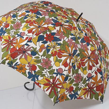 A0412 Sybilla シビラ 傘 USED美品 カラフルアートフラワー  58cm スペイン 中古 ブランド