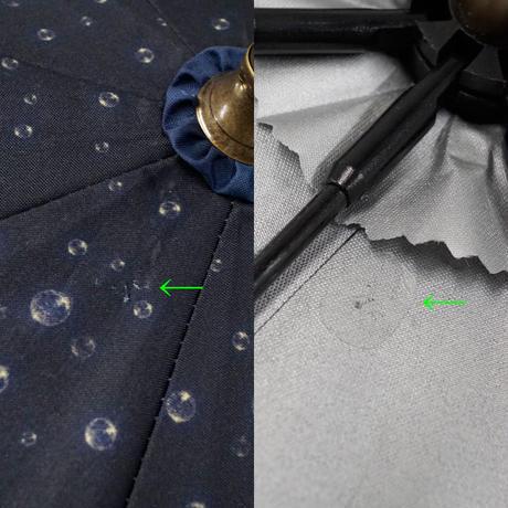 LINE DROPS ラインドロップス 小川 Disney 晴雨兼用日傘 USED美品 アリエル リトルマーメイド イルミネーションナイト ディズニー UV 50cm A6531  KR