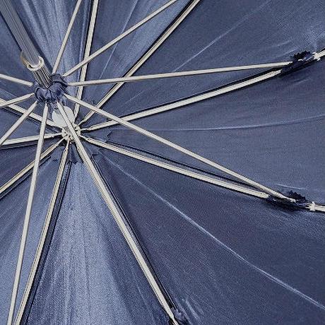 S0839 前原光榮商店 10本骨晴雨兼用日傘 USED極美品 UV 日本製 47cm 中古 ブランド