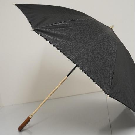 Aquascutum アクアスキュータム 晴雨兼用日傘 USED美品 東レサマーシールドLi 透かしレースプリント 47cm 中古 ブランド A3556
